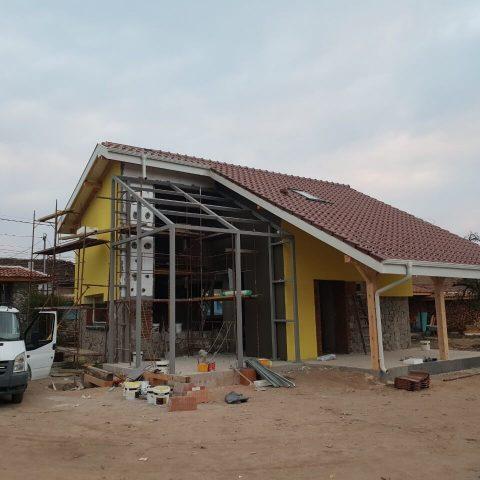 Строителство на еднофамилна къща в с. Виноградец