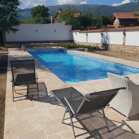 Строителство на стоманибетонен басейн и къща за гости в с. Црънча