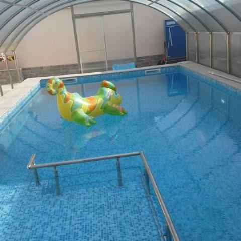 Строителство на бетонен басейн в гр. Пловдив