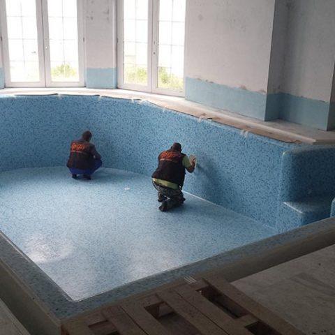 Строителство на закрит басейн в частен дом