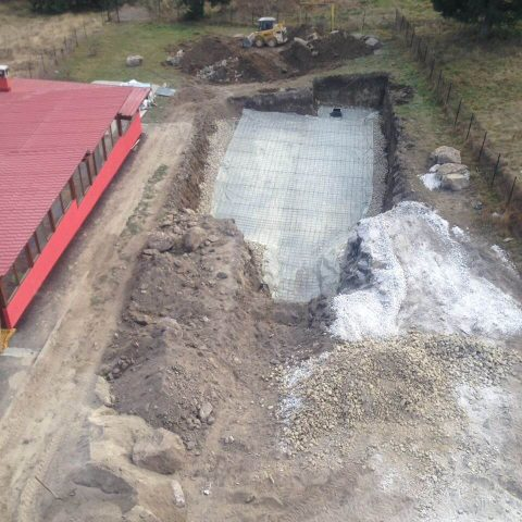 Строителство на басейн в гр. Сърница